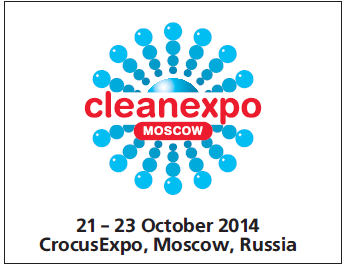 Cleanexpo Moscow, 21-23 October 2014