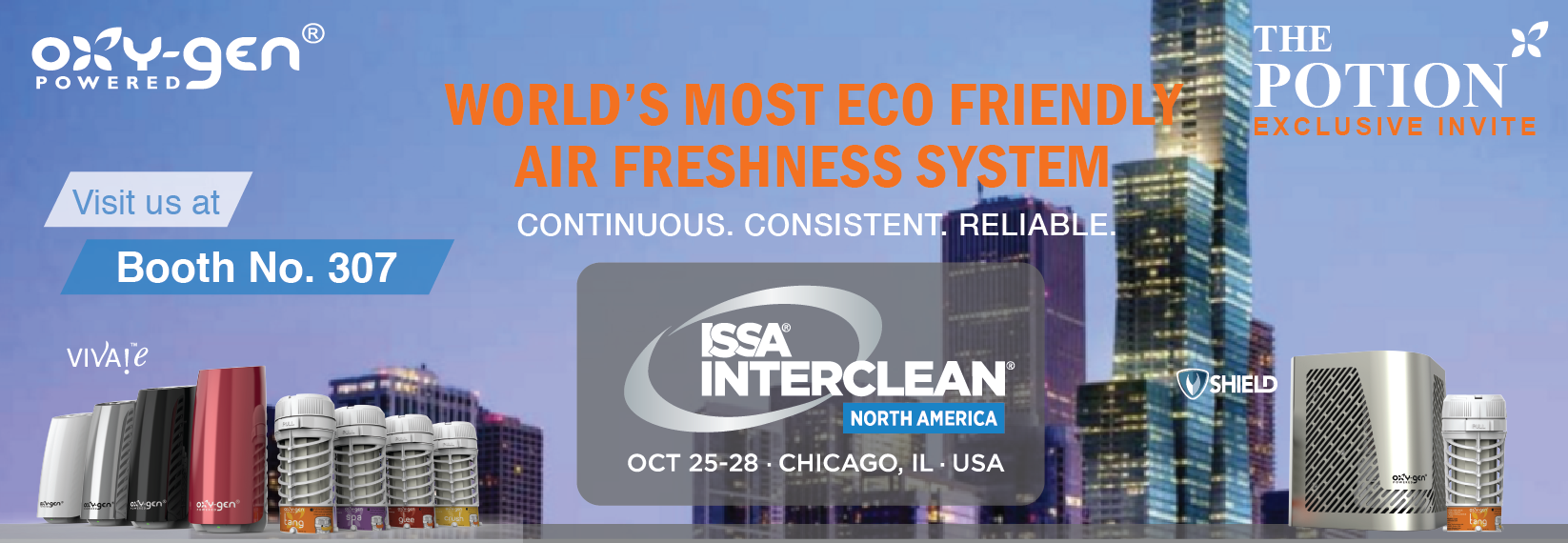 ISSA Interclean North America, Chicago 25-28 October 2016